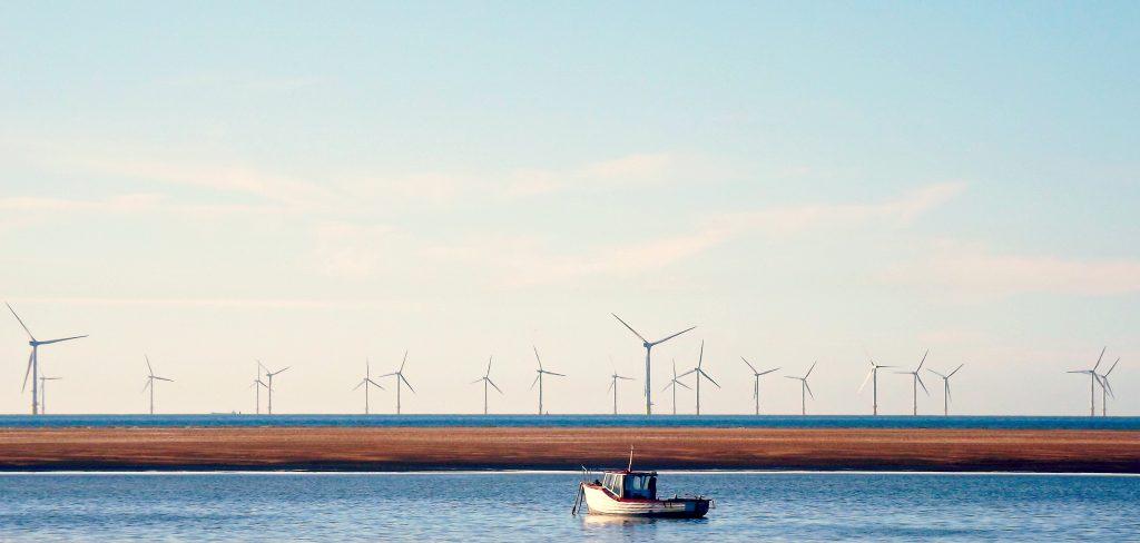 Wind Sea Turbines - Hoylake Beach