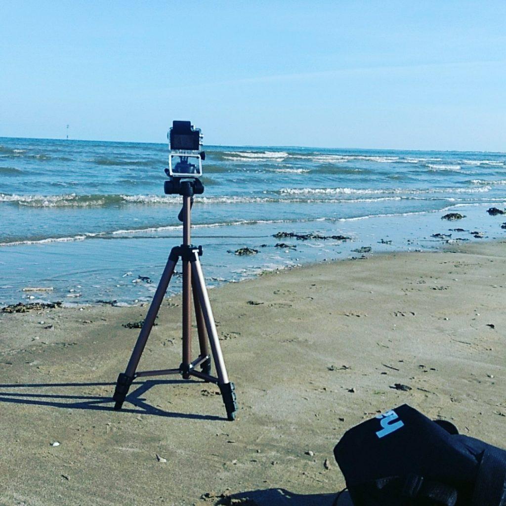 Beach Filming at New Brighton beach